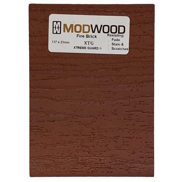 modwood fire brick back