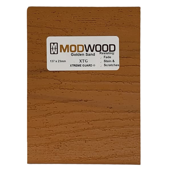 modwood golden sand back